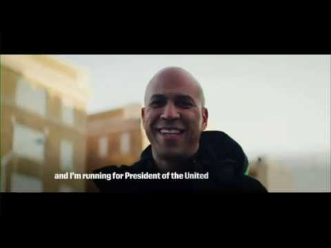 Sen. Cory Booker is running for president in 2020. The New Jersey Democrat made the announcement in a video message to supporters Friday, emphasizing a return to American unity in an era of deep political divisions. (Feb. 1)