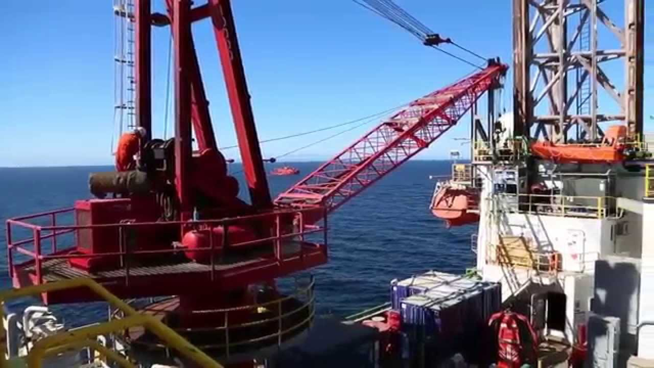 Exploratory drilling in the Pechora Sea (Dolginskoye field)