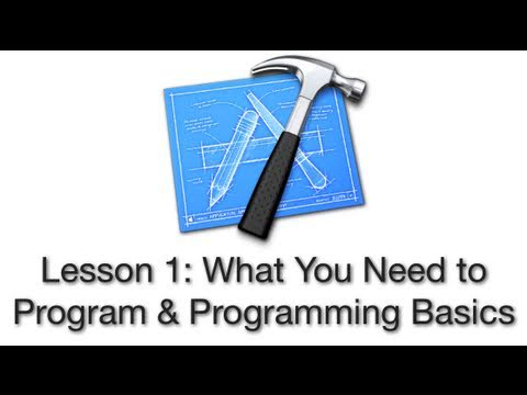 Objective-C Tutorial – Lesson 1: What You Need to Program & Programming Basics
