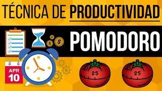 Video: Cómo Usar La Técnica De Pomodoro Para Maximizar Tu Productividad