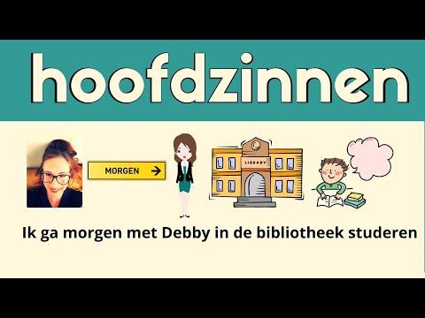 MAIN SENTENCES in DUTCH // Nederlandse hoofdzinnen (NT2 ...
