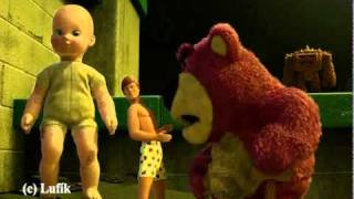 Toy Story 3 - Lots-o-Huggin Bear ( Eminem feat Rihanna - love the way you lie)