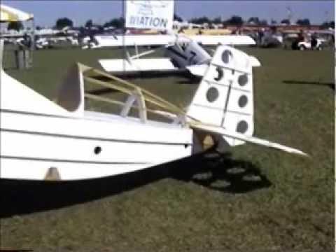 Theiss Aviation Speedster, part 103 legal ultralight built from foam