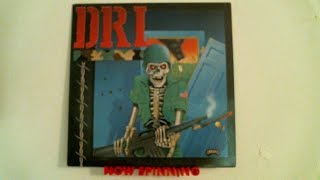 "D.R.I. ""Dirty Rotten LP/Violent Pacification"" (1988) Full Album 