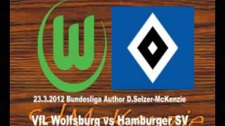 VfL Wolfsburg Vs Hamburger SV Bundesliga 23.3.2012 SelMcKenzie Selzer-McKenzie