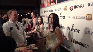 Sienna West at 2012 AVN
