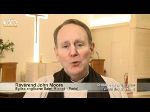 Révérend John Moore, église anglicane de Saint-Michaël à Paris