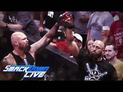 Gallows & Anderson join SmackDown LIVE in the Superstar Shake-up: SmackDown LIVE, April 17, 2018