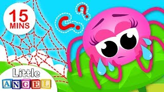 Where is My Web 2? Puppy Patrol Save Humpty Dumpty | Kids Songs & Nursery Rhymes by Little Angel