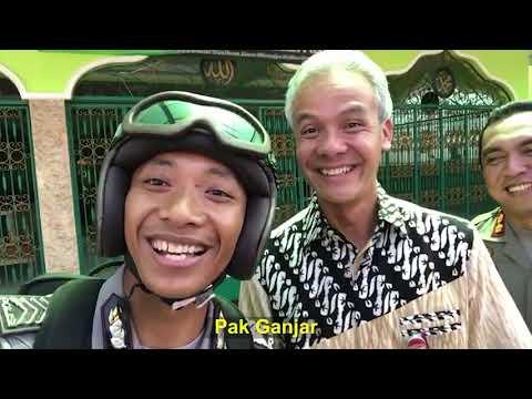 Ganjar Pranowo : Sampeyan Rodo Wagu, Ning Kreatif - Ketemu Youtuber Bripka Herman ( Pak Bhabin )