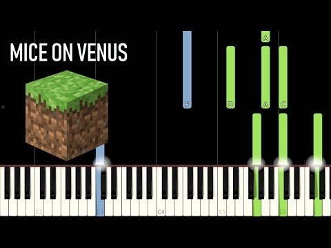 Living Mice - Minecraft [Piano Tutorial] (Synthesia