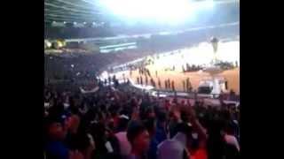 Aremania Action In Stadion Utama Gelora Bung Karno  Persija Vs Arema 01  Minggu 4 Mei 2014