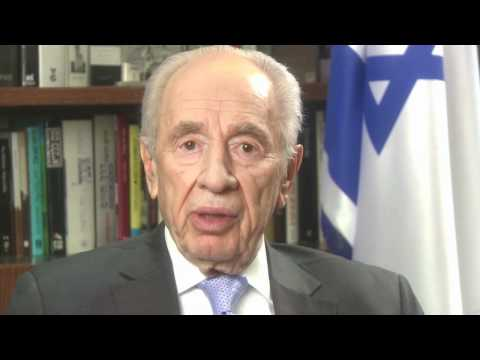 Former President Shimon Peres in a Recorded Message to out 2012 Conference