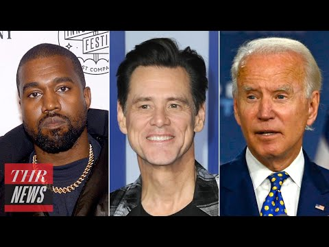 Jim Carrey to Play Joe Biden on SNL, Kanye West Twitter Rant Over Music Contract | THR News
