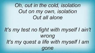 Armored Saint - Isolation Lyrics