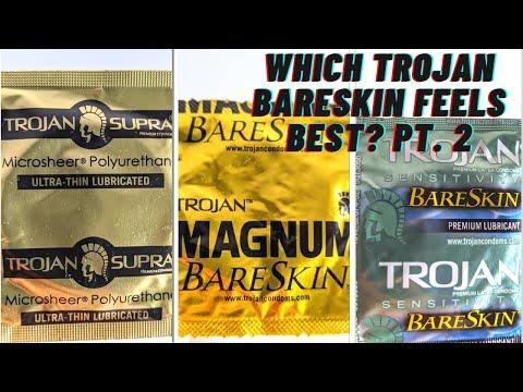 Which TROJAN BARESKIN CONDOM Feels Best (changed my mind) Pt. 2