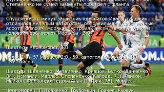 УПЛ: Шахтер без проблем справился с Черноморцем