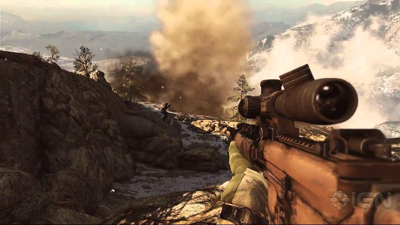 Some Extreme Sniping In Medal Of Honor