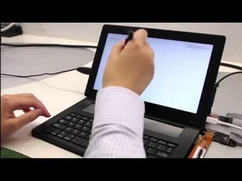 Microsoft DisplayCover : le claver avec zone tactile e-ink