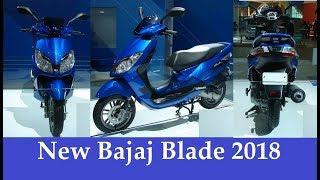 New Bajaj Blade 125cc 2018 Reveal | Rival to Honda Activa 5G