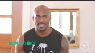 How to Sneak in A Workout at Your Desk with Dolvett Quince by Thrive Market