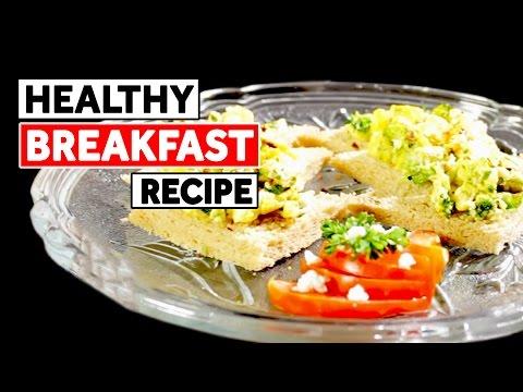 Healthy Breakfast Recipe – Broccoli & Feta Omelette