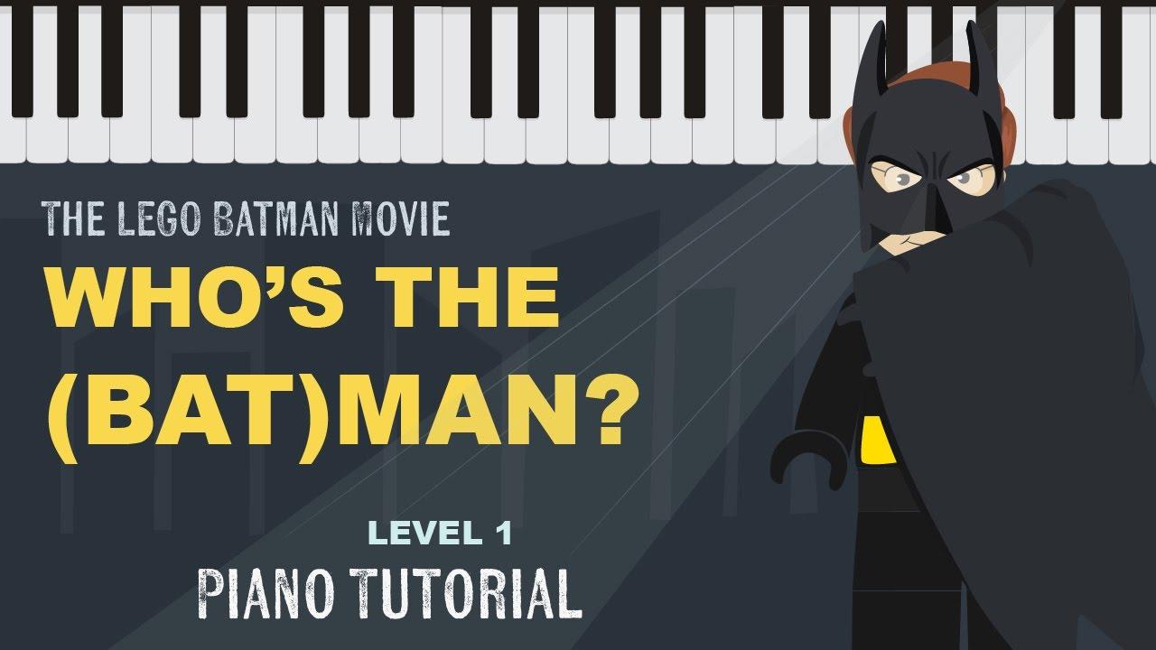 Who's The Batman (Lego Batman)