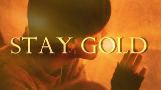 STAY GOLD but every other beat is missing