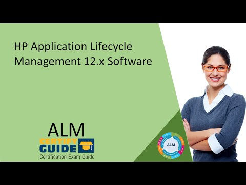 HP0-M101 HP Application Lifecycle Management 12.x Software ...