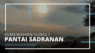 Kemewahan Sunset Pantai Sadranan di Gunungkidul, Surga Indah Pantai Selatan