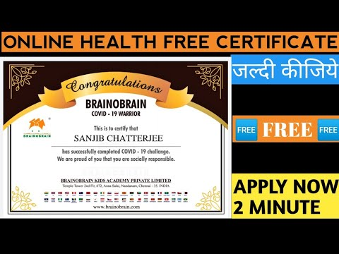 Online Health Course 2021 - Free Certificate - YouTube