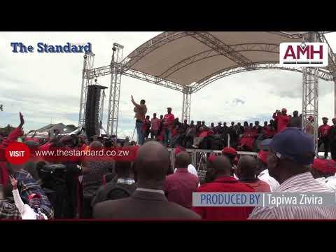 Tsvangira's Freedom Square last bow