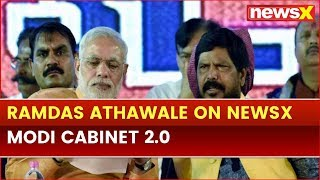 Ramdas Athawale exclusive on NewsX, hopeful of PM Narendra Modi Cabinet 2.0