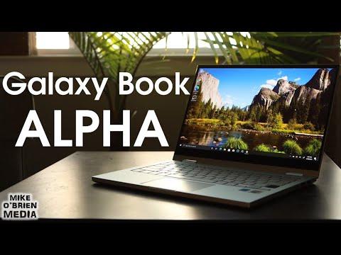External Review Video OSNIuYTlQtM for Samsung Galaxy Book Flex Alpha Ultra-Thin 2-in-1 Laptops