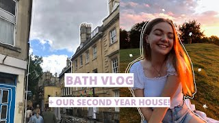 bath vlog! | getting the keys to our uni house✨