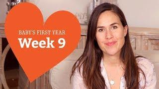 9 Week Old Baby - Your Baby's Development, Week by Week