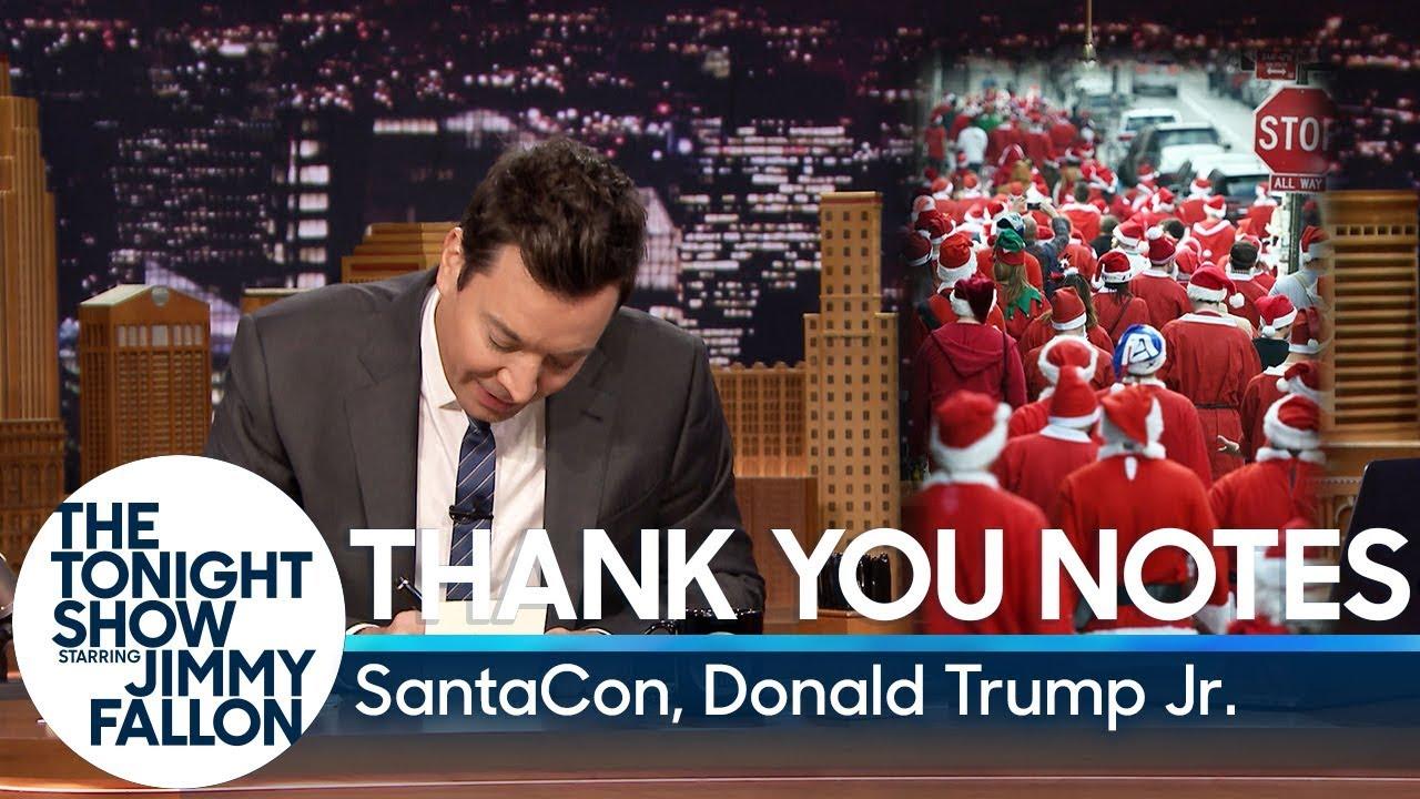Thank You Notes: SantaCon, Donald Trump Jr. thumbnail