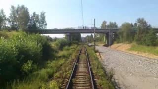 část staré tratě 220 před Benešovem u Prahy