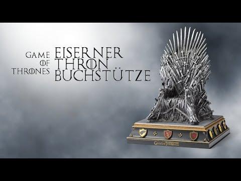 Der Eiserne Thron, oder: Die epischste Buchstütze aller Zeiten