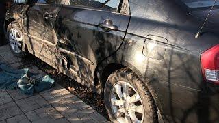 Ремонт  авто KIA после ДТП, и как уменьшить затраты. часть 1