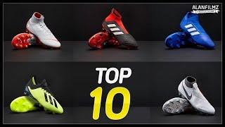 TOP 10 Best Football Boots on Market this Summer Ft. Nike, Adidas, Puma and more