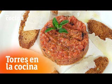 Tartar de tomate - Torres en la Cocina   RTVE Cocina