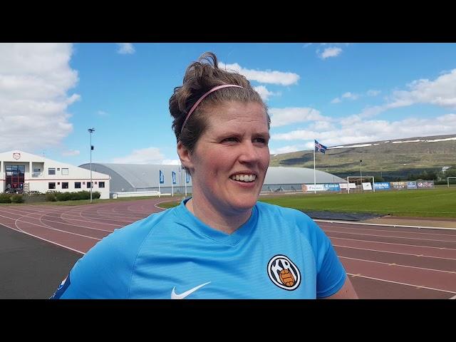 Katrín Ómars: Græt þetta í kvöld