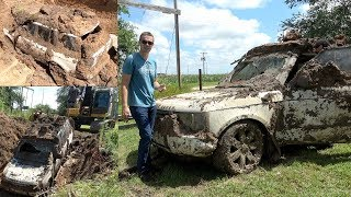 Will My Range Rover Start After Being BURIED ALIVE For 1 Year???