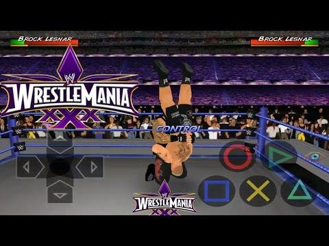 Brock Lesner Vs Undertaker (Wrestlemania 30) - WRESTLING REVOLUTION 3D