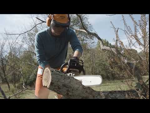 Stihl MS 261 C-M 20 in. in Mio, Michigan - Video 1
