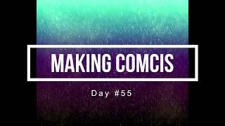 100 Days of Making Comics 55