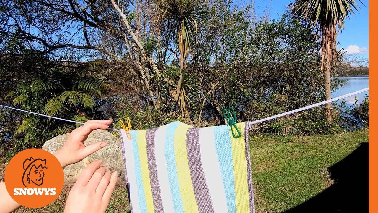 Wind-Up Clothesline