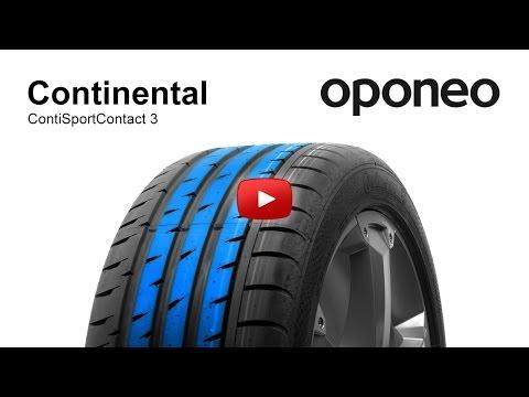 Continental ContiSportContact 3 ● Summer Tyres ● Oponeo™