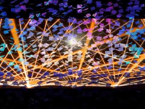 San Francisco Event Laser Light Show